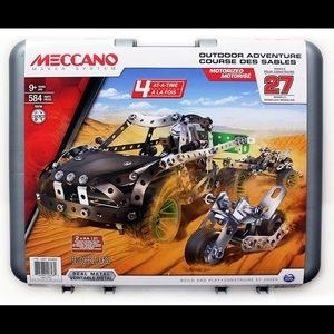 Meccano Outdoor Adventure Motorized and brand new